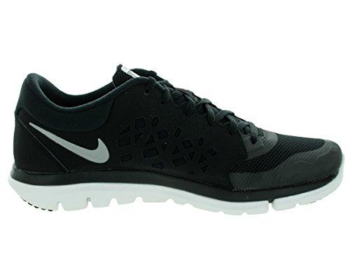 Nike 807176-015, Zapatillas de Trail Running para Hombre Negro (Black / Metallic Silver-Wolf Grey)