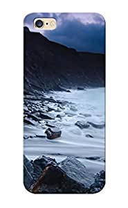 GAS441naAww Case Cover Mountains Landscapes Coast Sea Rocks Compatible With Iphone 6 Plus Protective Case