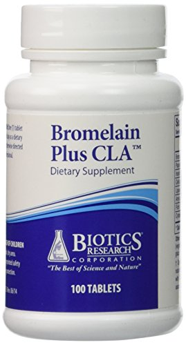Bromelain Plus CLA 100T - Biotics