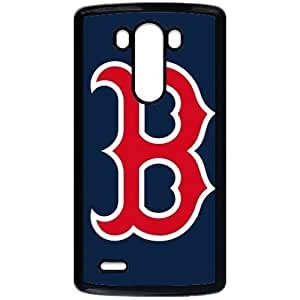 MLB&LG G3 Black Boston Red Sox Gift Holiday Christmas Gifts cell phone cases clear phone cases protectivefashion cell phone cases HMFN635585623