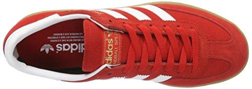 adidas Spezial, Sandalias con Plataforma para Hombre Multicolore (Colred/Ftwwht/Goldmt)