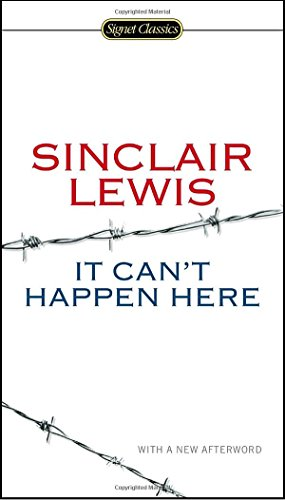 It Can't Happen Here (Signet Classics) cover