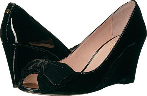 Kate Spade New York Women's Roberta Black Patent/Velvet 9.5 M US
