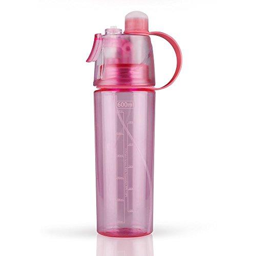 XINSHI Mist Water Bottles Spray Kettle for Kids,Leak Proof Sports Bottle,BPA Free,21oz