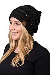 Solid Ribbed Soft Stretch Beanie