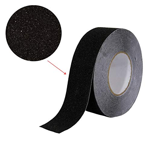 Safety Best Grip Friction Black Anti Slip Traction Tape 2 Inch X 12 10pcs
