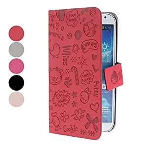 Solid Color PU Leather Full Body Case for Samsung Galaxy S4 I9500 (Assorted Colors) --- COLOR:Gray