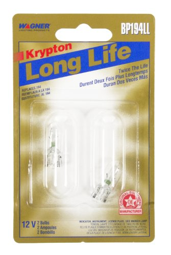 Wagner Lighting BP194LL Long Life Miniature Bulb - Card of 2
