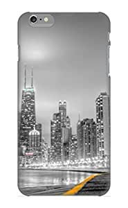 Georgemunoz Snap On Hard Case Cover Black Amp White City Protector For Iphone 6 Plus