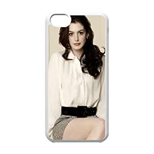 iPhone 5c Cell Phone Case White Anne Hathaway Okaou