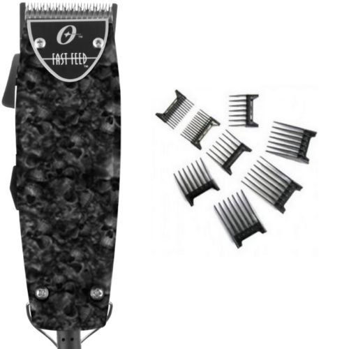 Fast Feed (Oster Professional Skull Fast Feed Professional Clipper+Free 8-pc comb)