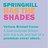 Springhill Purple Colored Cardstock Paper, 67lb