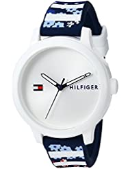 Tommy Hilfiger Womens EVERYDAY SPORT Quartz Resin and Silicone Casual Watch, Color:Blue (Model: 1781779)