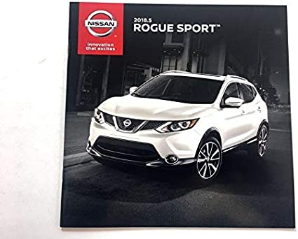 Amazon Com 2018 5 2018 2019 Nissan Rogue Sport 16 Page Original Car Sales Brochure Catalog Everything Else