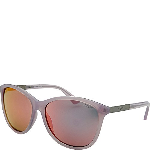 GUESS Eyewear Square Sunglasses Purple
