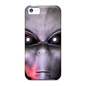 Hot New 3d Alien Face Cases Covers For Iphone 5c With Perfect Design