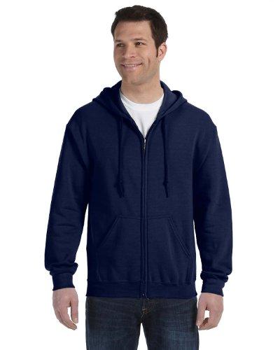 heavy blend zip hooded sweatshirt