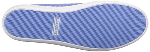 Lacoste Women's Marthe Slip on 216 1 Flat, Blue, 7 M US