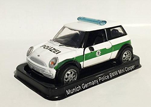 Germany Police set of 4 metal car models (BMW Mini Cooper...