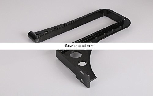 New B001P Bow-shaped Arm/Metal Bow-arm/Aluminum bow rack with pressed block&guiding bar