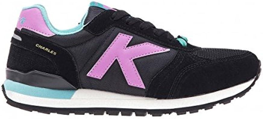 KELME - Zapatilla Casual Retro Running Charles, Unisex, Negro, 39: Amazon.es: Zapatos y complementos