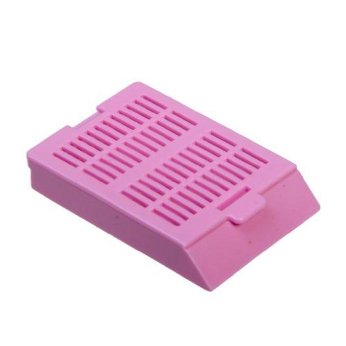 Bio Plas 6057 Lilac Acetyl Plastic Histo Plas Uni-Capsette Tissue Embedding Cassettes with Detachable Lid (Pack of 500) by Bio Plas (Image #1)