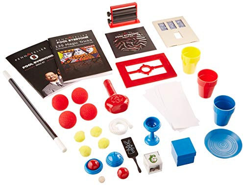 The Penn & Teller Fool Everyone Magic Kit - Over 200 Ways To Trick Your Friends (Renewed)