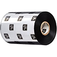 Zebra Technologies 05555BK11045 5555 Wax/Resin Ribbon, 4.33 W x 1476 L, 1 Core (Pack of 6)