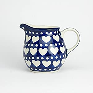 Polish Pottery Creamer Milk Jug – Heart to Heart