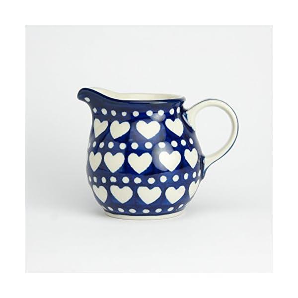 Polish Pottery Creamer Milk Jug – Heart to Heart