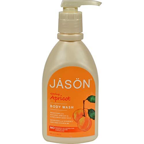 Jason Satin Shower Body Wash Apricot - 30 fl ()