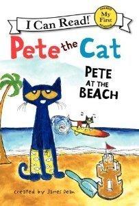 PETE AT THE BEACH CAT:Pete the Cat: