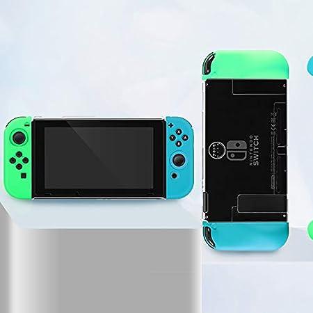 ZYLFN Estuche para Nintendo Switch, Interruptor De Cruce De Animales Joy-con Cubierta De Controlador De Consola, Silicona TPU A Prueba De Golpes para Nintendo Switch,Protective Shell: Amazon.es: Hogar