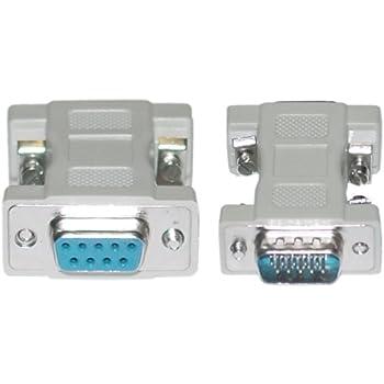 Vga Cable Pin 9: Amazon.com: CableWholesale DB9 Female/HD15 VGA Male VGA Adaptor rh:amazon.com,Design