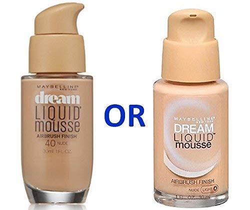 Maybelline Dream Liquid Mousse Foundation– NUDE (LIGHT 4)/NUDE 40