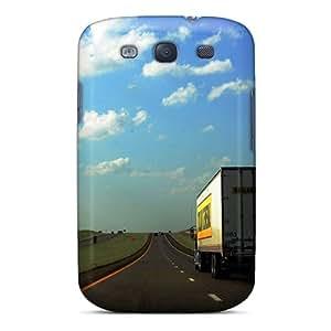 [wQxKwxY6329vzdkZ]premium Phone Case For Galaxy S3/ Highway Beautiful Tpu Case Cover
