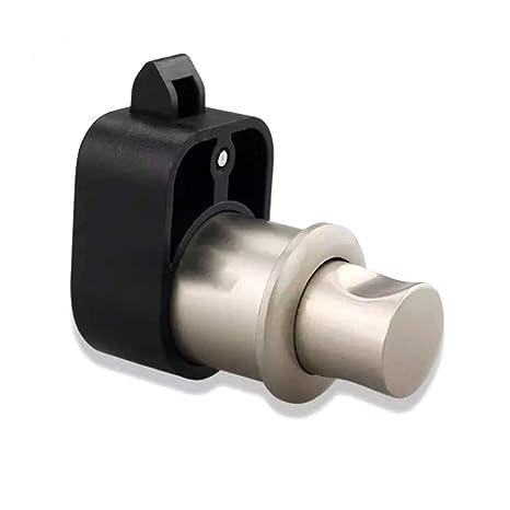 Amazon com: Taco Mocho Silver Pearl Push Button Catch Lock