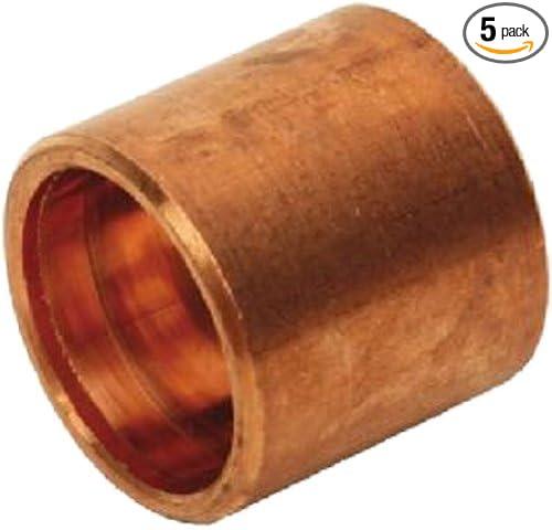 FTG x C Flush Bushing Plumbers Choice 91802 Copper Fitting 1-Inch x 1//2-Inch 5-Pack