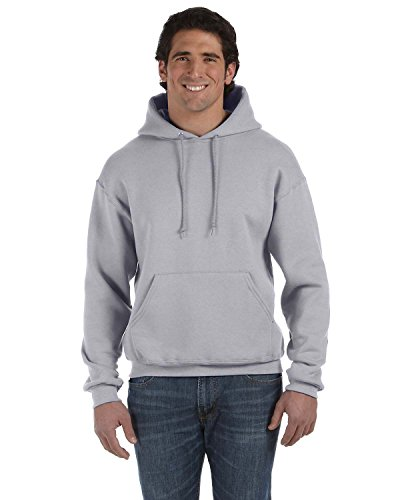 Fruit of the Loom Product of Brand Adult 12 oz Supercotton Pullover Hood - Athletic Heather - M - (Instant Savings of 5% & More) - Loom Adult Supercotton