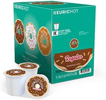 The Original Donut Shop Regular Keurig Single-Serve K-Cup Pods, Medium Roast Coffee, 24 Count