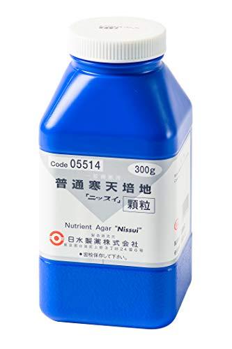 Amazon | 日水製薬 粉末培地 顆粒タイプ(普通寒天培地) 300g | 寒天 ...