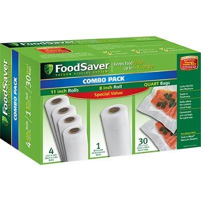 FoodSaver Combo Pack Bags