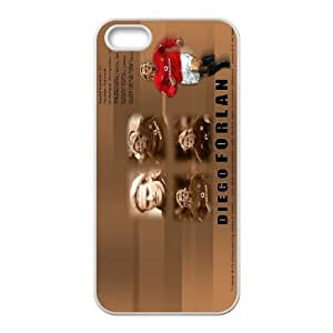 iPhone 5,5S Protective Phone Case Diego Forlan ONE1231460