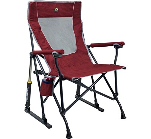 GCI Outdoor RoadTrip Rocker Chair Cinnamon For Sale