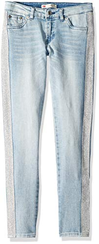 Levi's Girls' Little 710 Super Skinny Fit Jeans, Wonderwall, 5
