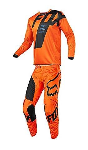 Fox Racing 2018 180 Mastar Jersey/Pants Adult Mens Combo Offroad MX Gear Motocross Riding Gear (Fox Jersey Mx)