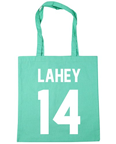 Lahey Shopping Gym litres Mint Tote HippoWarehouse Bag Beach 14 42cm x38cm 10 6dwSWOZCq