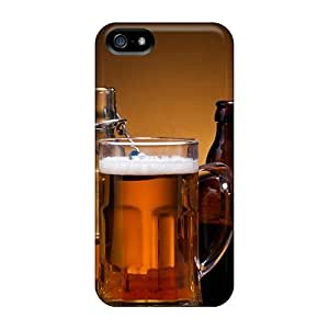 ElenaHarper Fashion Protective Beer Mix Cases Covers For Iphone 5/5s