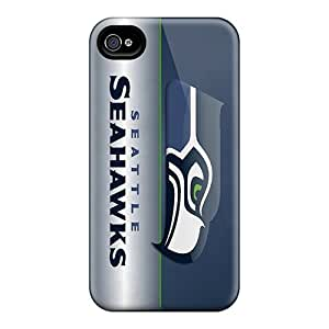 Shock-dirt Proof Seattle Seahawks For Samsung Galaxy S6 Case Cover