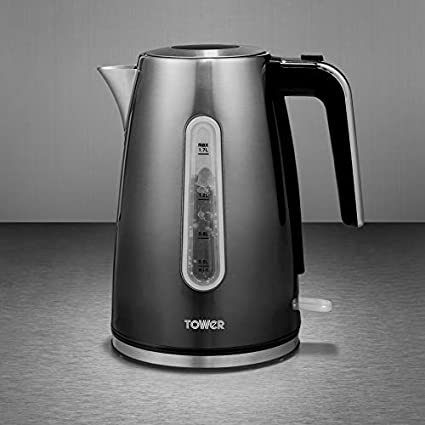 Tower T10046GRP Kettle with Open Handle